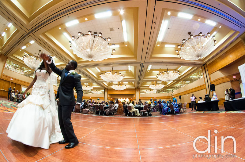 Toyosi & Nosa - Crowne Plaza Atlanta Perimeter at Ravinia Hotel | Dunwoody United Methodist Church | Atlanta Wedding Photographer