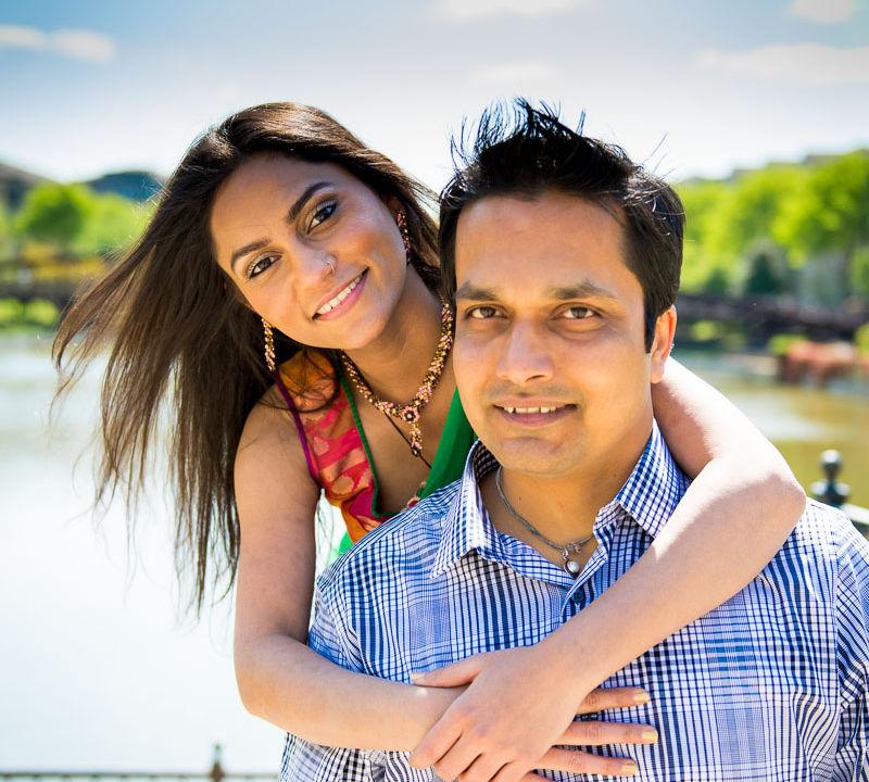 Ashish + Jignasa: Engaged | Atlantic Station | Atlanta, GA