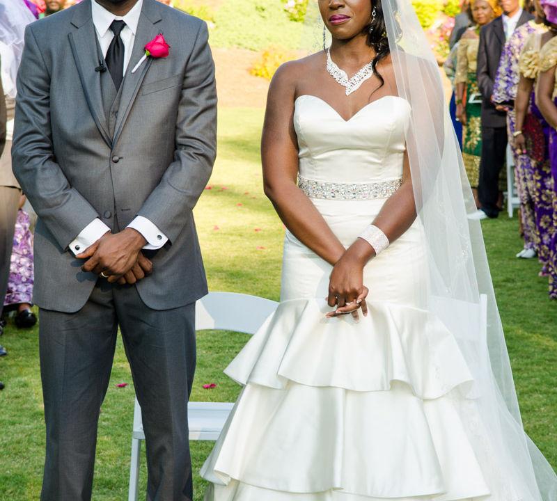 Nneka + Obinna: Married | Chateau Elan Winery and Resort