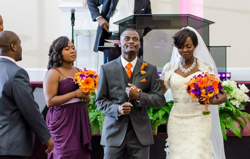 Wole + Ronke: Wedding | Kings Court Chapel | KTN Ballroom | Atlanta Wedding Photographer