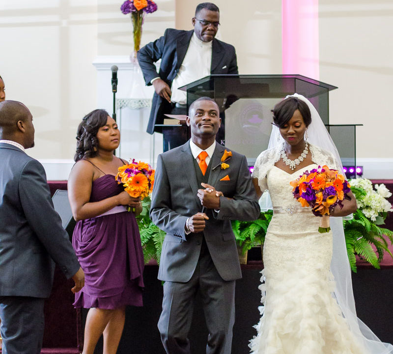 Wole + Ronke: Wedding | Kings Court Chapel | KTN Ballroom | Atlanta Wedding Photographer
