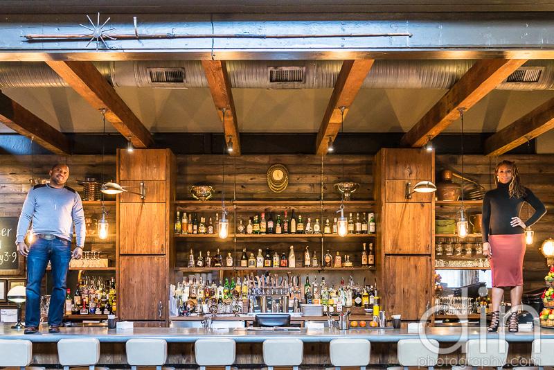 Mark + Halle: Engagement | Lure Restaurant | Atlanta, GA | Atlanta Engagement Photographer