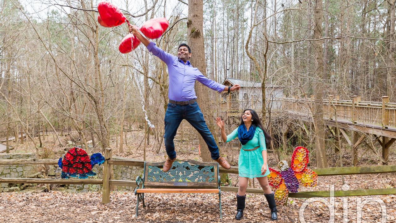 Rakesh + Mahe: Engaged | Dunwoody | Atlanta, GA | Atlanta Wedding Photographers