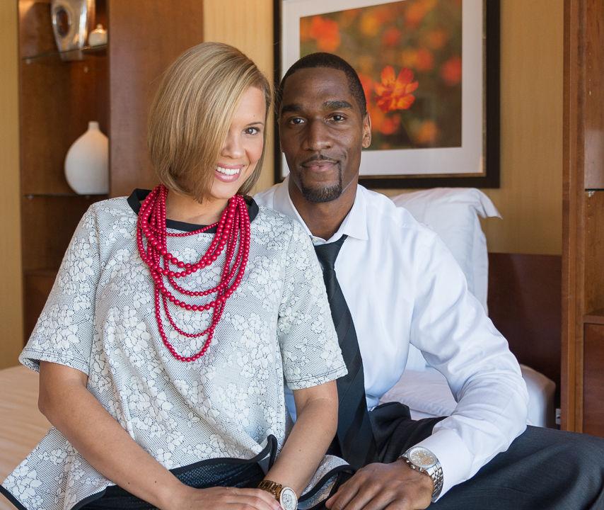 Kevin + Parisha: Engagement | Marriott Marquis | Piedmont Park | Atlanta, GA