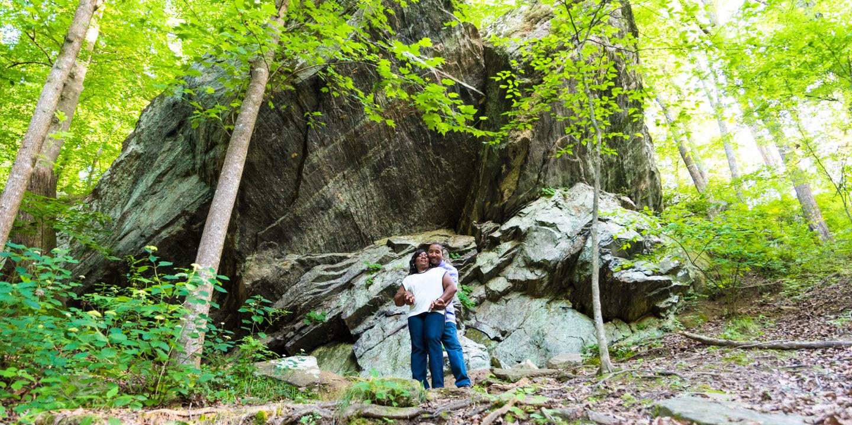 Steven + Tabetha: Engagement | Chattahoochee River | Atlanta, GA