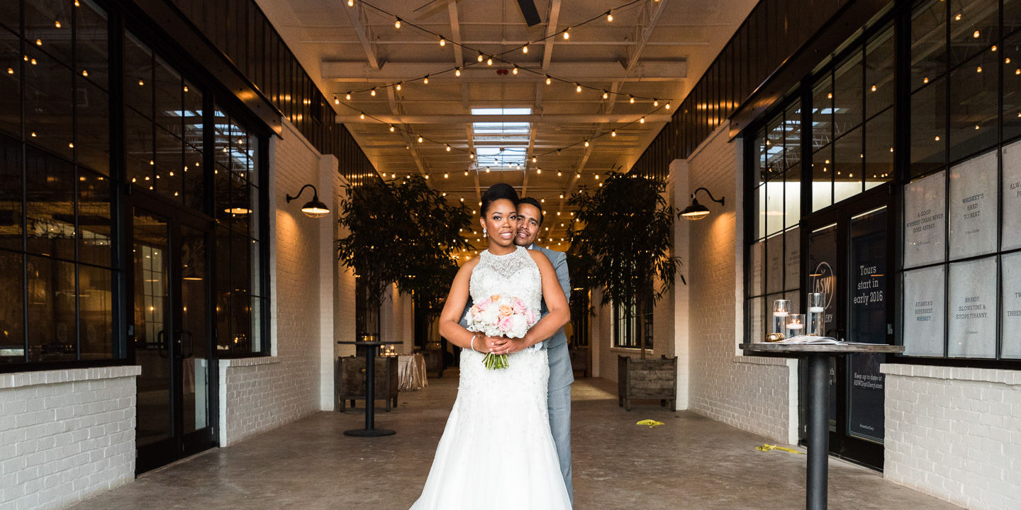 Darryl + Brittany: Wedding | The Stave Room | Atlanta, GA