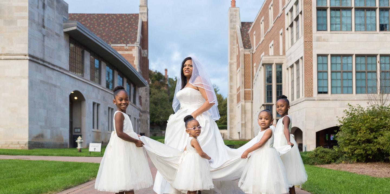 Wendell + Sonya: Wedding   Agnes Scott College   Decatur, GA
