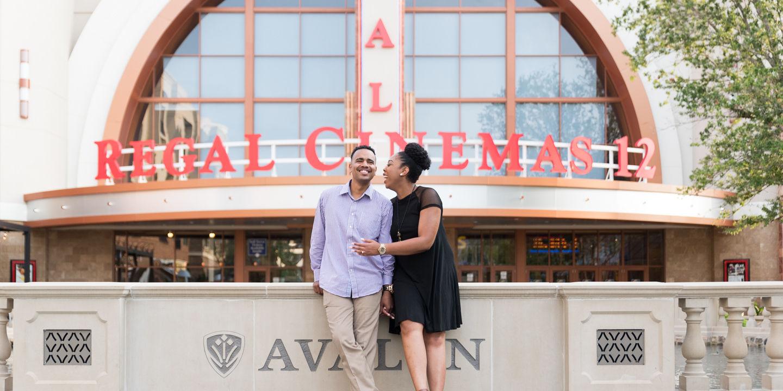 Darryl + Brittany: Engagement | Avalon | Alpharetta, GA